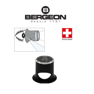 Bergeon 2611-TN 4.0x Часовникарска лупа Biconvex Air 2.5
