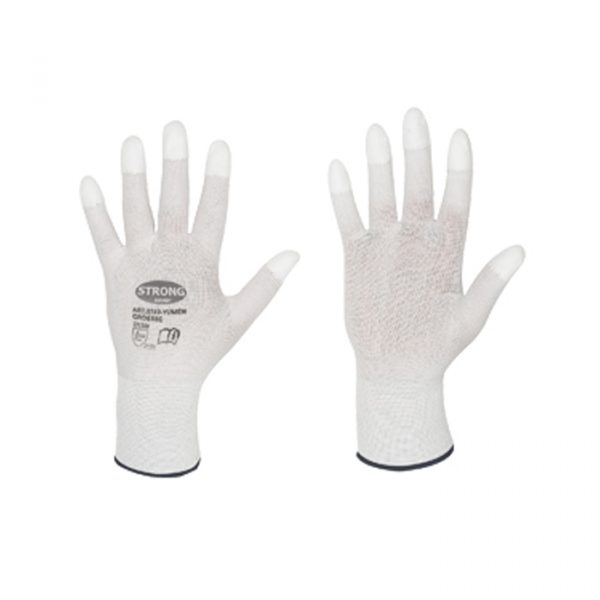 Работни ръкавици за полиране с полиуретаново покритие за златари и часовникари размер М